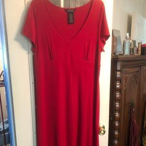 Red Hot Stretch Dress